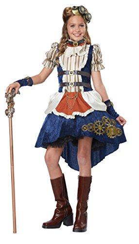 California Costumes Steampunk Fashion Girl Costume Multi X-Large