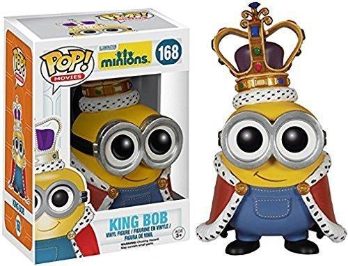 Bob Minions figure King Bob Funko 4 inches