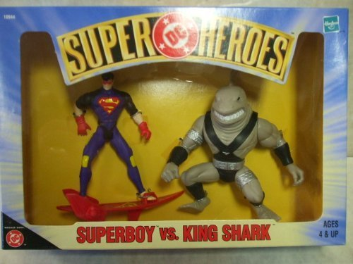 Superboy Vs King Shark Action Figure 2 Pack