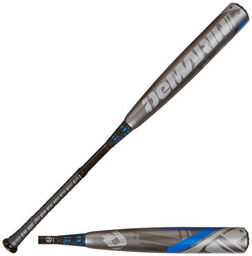 DeMarini 2015 CF7 BBCOR Baseball Bat -3 GreyBlue 33-Inch30-Ounce