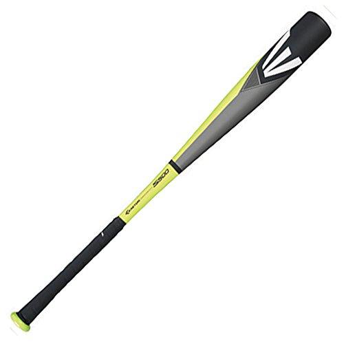 Mens Easton S500 BBCOR -3 Baseball bat GreyBlackGreen Size 330 in  30 ounces