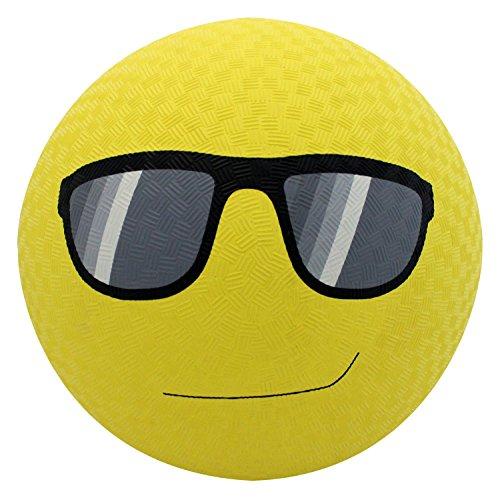 Baden Rubber Sunglasses Emoji Playground Ball 85 Yellow