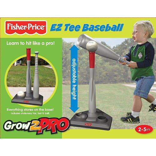Fisher-Price Grow to Pro Tee Ball Set
