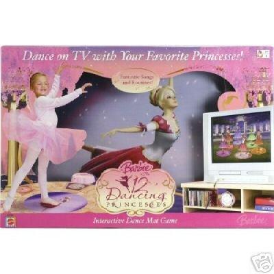 Barbie 12 Dancing Princesses Learn to Dance Mat Game