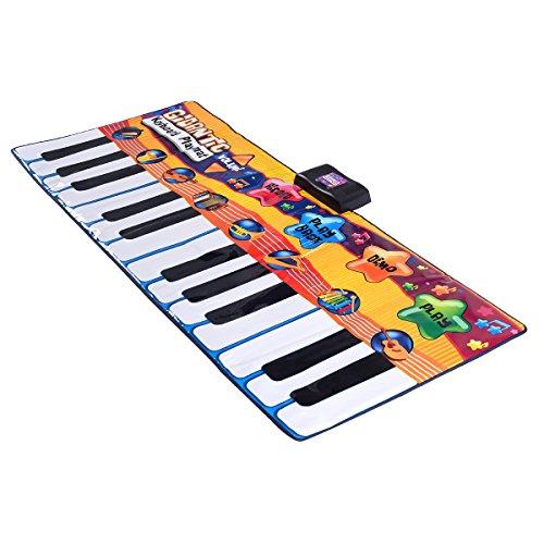 Costzon 24 Keys Piano Mat Kids Keyboard Playmat Dance Musical Play Set