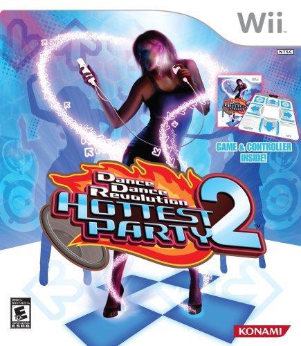 Dance Dance Revolution Hottest Party 2 with Dance Mat - Nintendo Wii