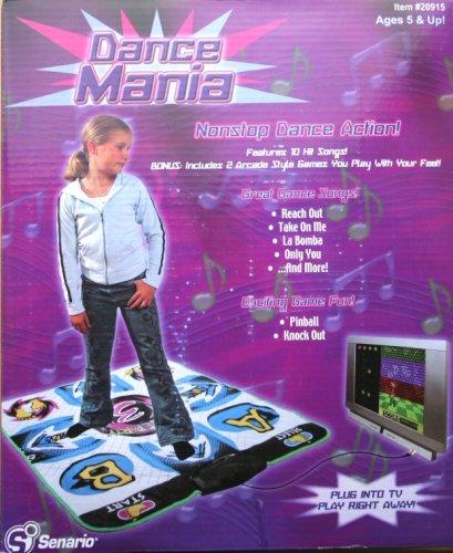 Senario Dance Mania Plug Play Dance Mat