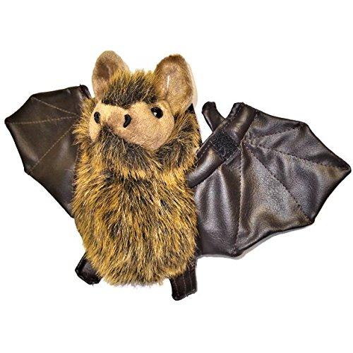Dowman Plush Bat Toy By Soft Touch
