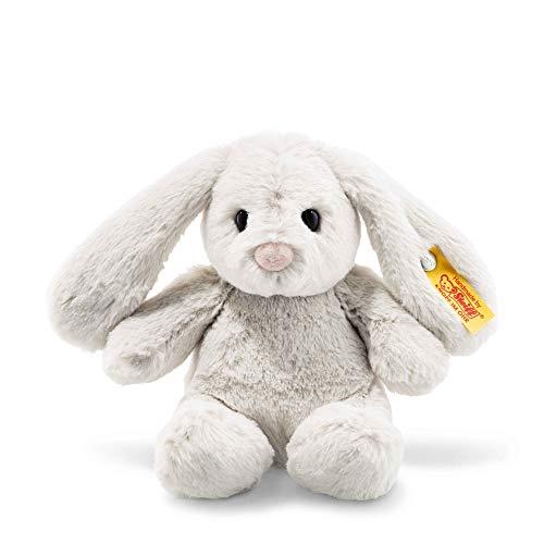 Steiff Stuffed Bunny Rabbit - Soft and Cuddly Plush Animal Toy - 8 Authentic Steiff