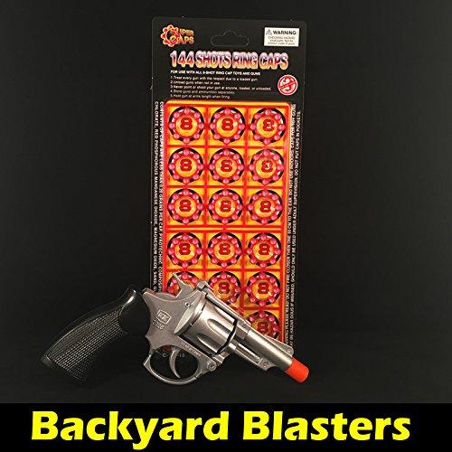 Metal Die-Cast Toy Cap Gun - Chiefs Special 45 Revolver