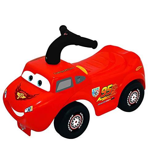 Kiddieland Toys Limited Disney Light N Sound Activity McQueen Racer Ride On