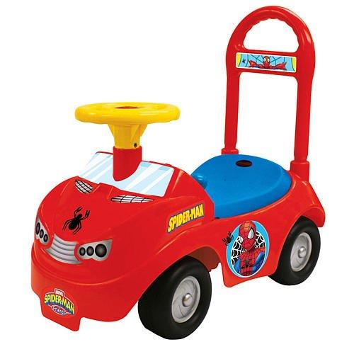 Kiddieland Toys Limited Super Spiderman Activity Ride-on