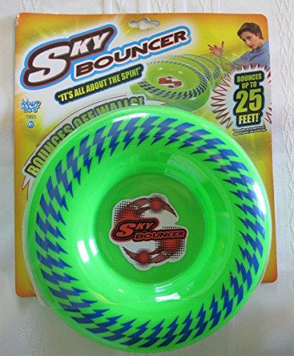 Maui Toys Pop Skybouncer Neon Green Flying Disc