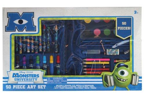 Tri-Coastal Design -Toys Monsters U 60-Piece Art Set
