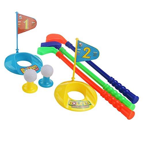 NUOLUX Toy Golf Set Plastic for Toddler Kid Parent-child Games