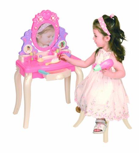 Pavlovz Toyz Light and Sound Vanity Table Play Set PinkPurpleWhite