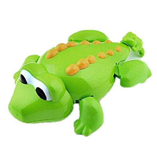 Baby crocodile toys - SODIALRCute Alligator Baby Bathtub Toy for Kids Swim Pool Fun Green