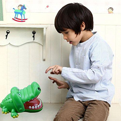 Kingtoys Crocodile Bite Finger Pull Teeth Game Children Kid Toy Gift