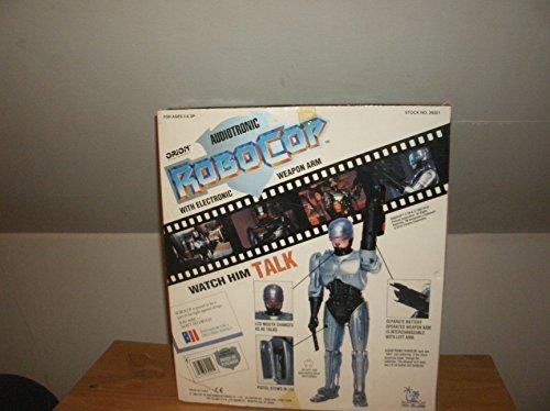 Robocop Audiotronic Talking Light Weapon Sound 12 Action Figure 1993 Toy Island