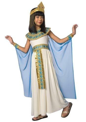Toy Island Girls Child Cleopatra Costume LargeSize 12-14