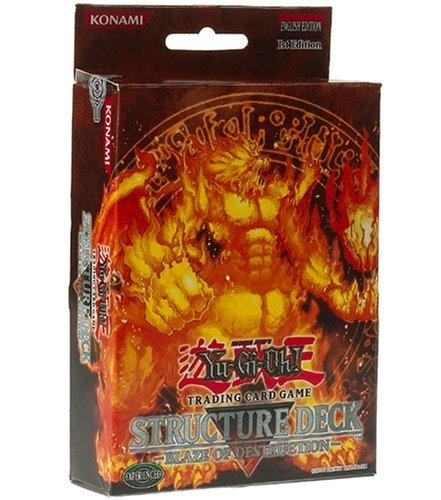 YuGiOh Blaze of Destruction 1st Edition Structure Deck - English Toy