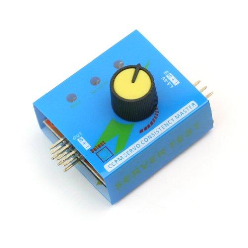 Multi Servo Tester 3CH CCPM Meter ESC Speed Controller Checker Futaba Towerpro