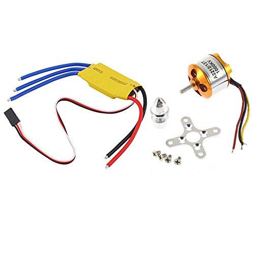 A2212 1000KV Brushless Motor w 30A Brushless ESC for DJI F450 F550 RC