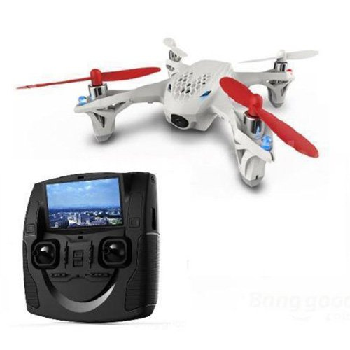 Transmitter Camera - HUBSAN X4 H107D RC DRONE 58G FPV RTF Quadcopter w Transmitter Camera FAT