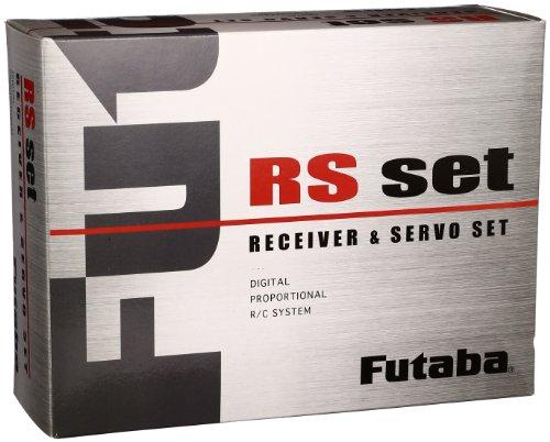 FUTABA RS614FS-BLS452 receiver servo set 00106852-1