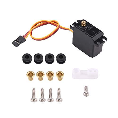 Taidda RC Car Servo Waterproof Durable 22kg Metal Gear Waterproof Servo Remote Control Accessory for 116 114 112 RC Car