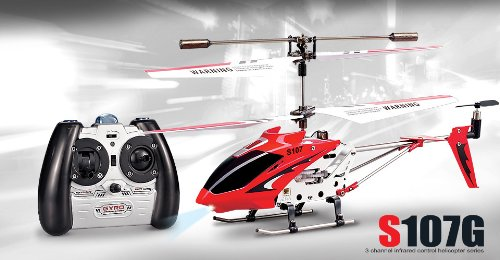 NCÂ BRAND - New Genuine Syma S107G 3CH Gyro RC Helicopter With AC Charger Colors Vary