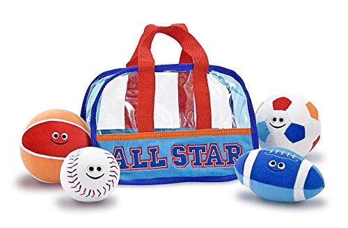 Melissa Doug Sports Bag Fill and Spill Baby and Toddler Toy
