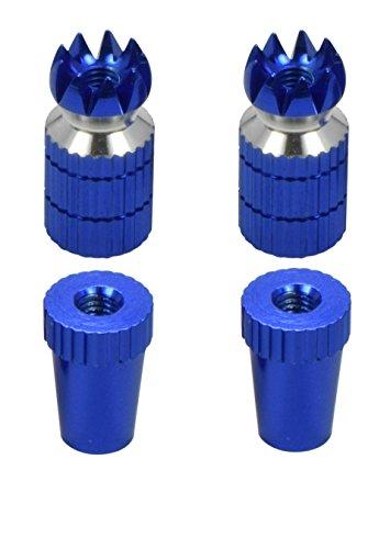 RC Transmitter Stick Ends Blue Aluminum Futaba  Spektrum DX6 DX6i DX7S DX8 DX9  Taranis X9D TX Transmitter Gimbal - Apex RC Products 1700