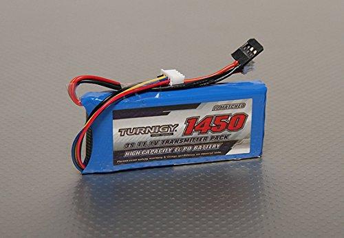 Turnigy 1450mah 3s 111v Transmitter Lipoly Pack