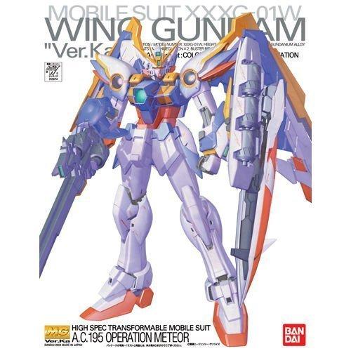 Bandai Hobby WING GUNDAM VERKa Bandai Master Grade Action Figure by Gundam