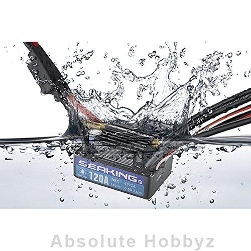 Hobby Wing Seaking 120A V3 Brushless ESC