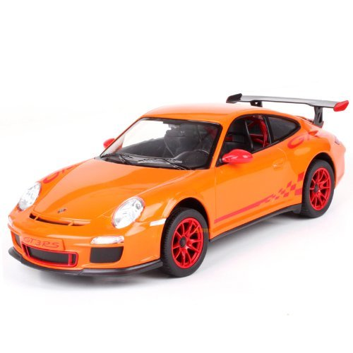 Officially Licensed Brand New Radio Remote Control Car 114 Scale Porsche 911 GT3 RS RC RTR Orange