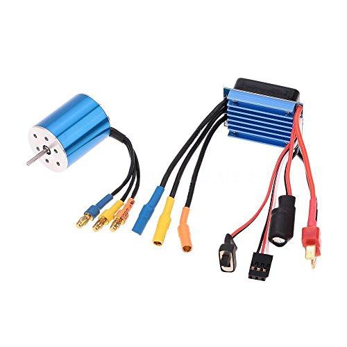 116 118 RC Car Brushless Motor  25A ESC - SODIALR2430 7200KV 4P Sensorless Brushless Motor  25A ESC for 116 118 RC Car
