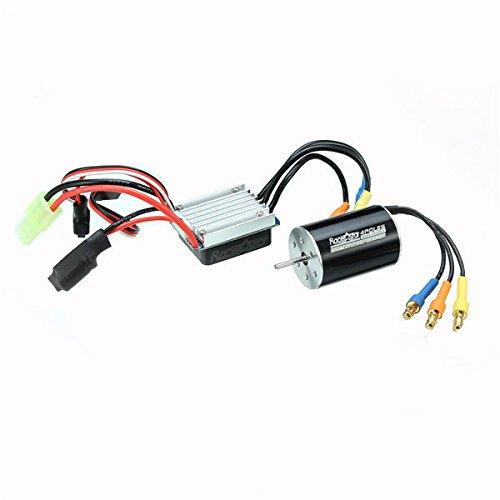 Frontier Racerstar 2435 Waterproof Brushless Sensorless Motor 45004800KV 25A ESC For 116 118 RC Car