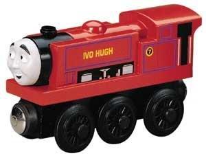 Ivo Hugh - Thomas Friends Wooden Railway Tank Train Engine - Brand New Loose