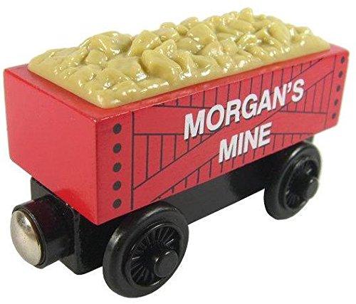 Morgans Mine Cargo Train - Thomas Friends Wooden Railway Tank Train Engine - Brand New Loose