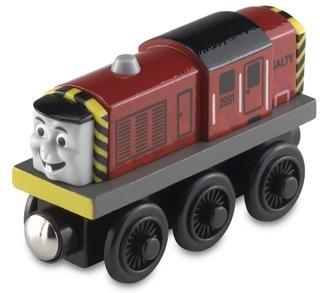 Salty - Thomas Friends Wooden Railway Tank Train Engine - Brand New Loose