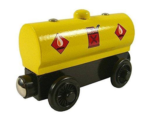 Sodor Gas Tanker Car - Thomas Friends Wooden Railway Tank Train Engine - Brand New Loose