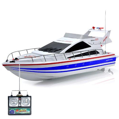 RC Racing Boat Atlantic - 40KmHour Top Speed Professional 380 Class Dual Motor