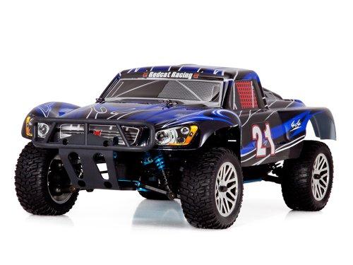Redcat Racing Vortex SS Desert Nitro Truck BlackBlue 110 Scale