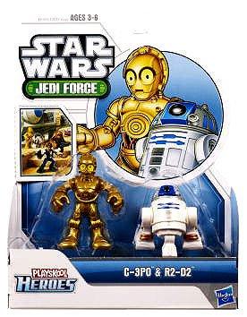 Playskool Heroes Star Wars Jedi Force Figures R2-D2 and C-3PO