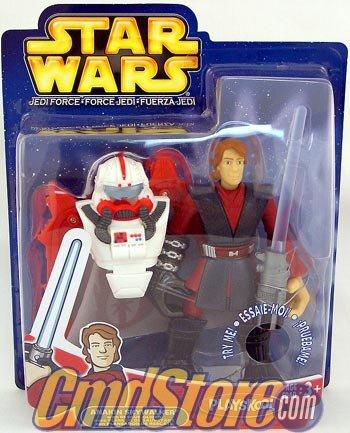 Playskool Star Wars Jedi Force Anakin Skywalker with Rescue Glider