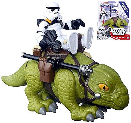 Star Wars Playskool Galactic Heroes Sandtrooper Dewback Figures IN STOCK