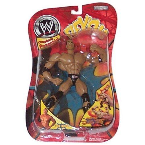 WWE FLEXEMS THE ROCK ACTION FIGURE