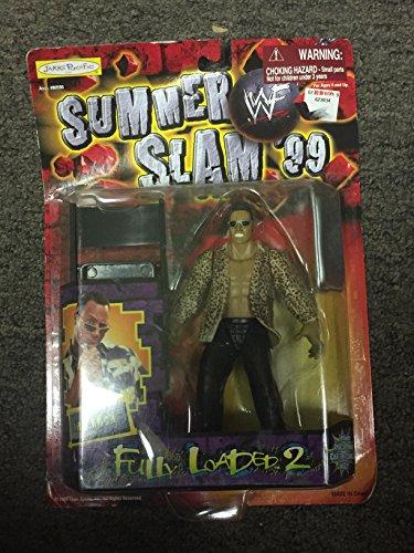 WWF Jakks Pacific Summer Slam 99 Road Rage The Rock Action Figure